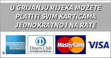 U Grijanju Rijeka možete platiti svim karticama jednokratno i na rate
