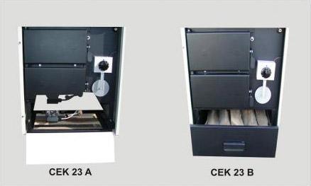 Čelični toplovodni kotlovi CEK 23