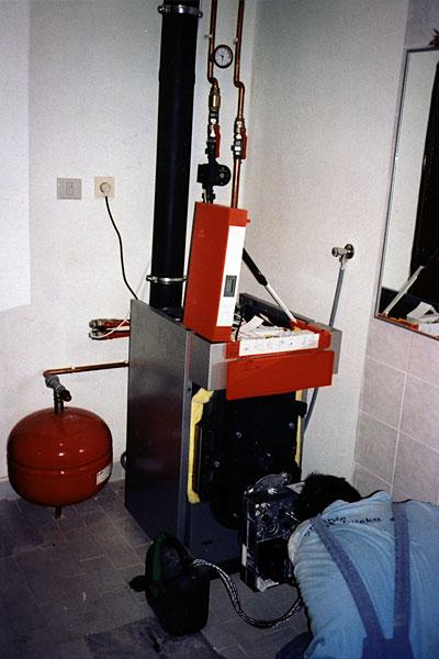 Centralno grijanje na lož ulje