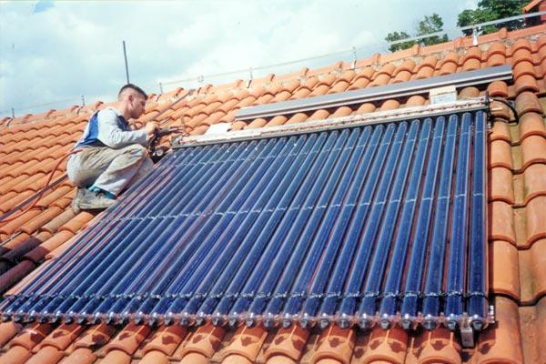 Solarno centralno grijanje