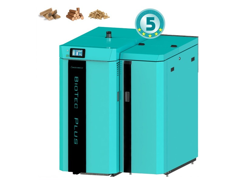 Kotao s dva ložišta BioTec Plus
